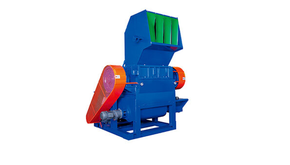 Plastic Crusher Machine with Horizontal Conveyor - Wan Ming Machinery