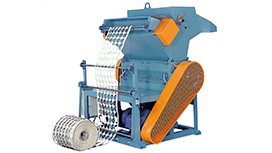 CRUSHER WITH GUIDE WHEEL